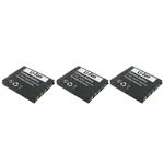 Panasonic Battery for Panasonic (CB-S004)-3-Pack Replacement Battery 49517-5